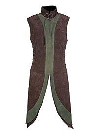 Leather Jerkin - Dwarf brown-green