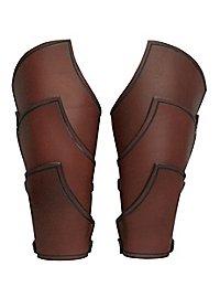 Bracers - Elven Warrior brown