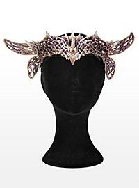 Elfenkönig Krone aus Leder