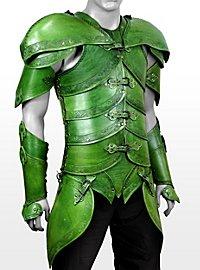 Lederrüstungsset - Elfen grün