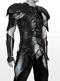 Lederrüstungsset - Elfen schwarz
