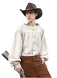 Westernhemd - Old Sam, weiß