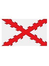 Flag - Burgundy cross