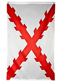 Flagge - Burgunderkreuz
