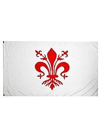 Flagge Florentiner Lilien