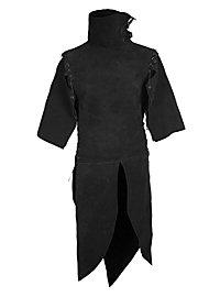 Leather Jerkin - Ranger black
