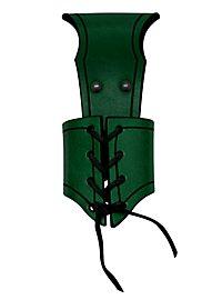 Fourreau de dague à laçage vert
