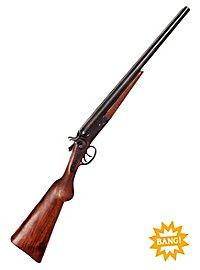 Fusil de chasse à deux canons