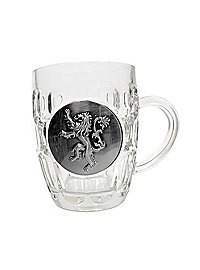 Game of Thrones - Beer glass Lannister