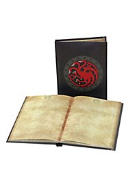 Game of Thrones - Notebook with light function Targaryen