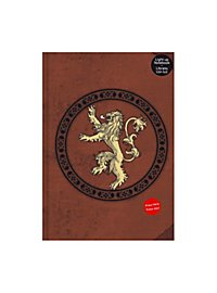 Game of Thrones - Notizbuch mit Leuchtfunktion Lannister