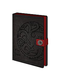 Game of Thrones - Premium Notebook Targaryen