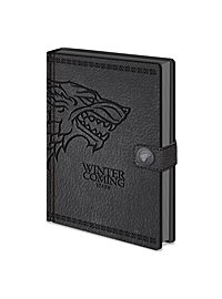 Game of Thrones - Premium Notizbuch Stark
