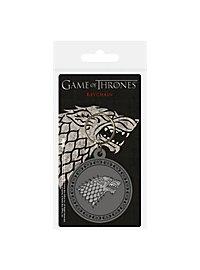 Game of Thrones - Stark Schlüsselanhänger aus Gummi