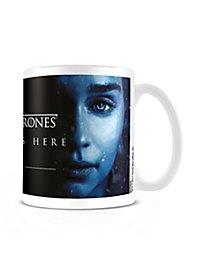 Game of Thrones - Tasse Winter is Here mit Daenerys