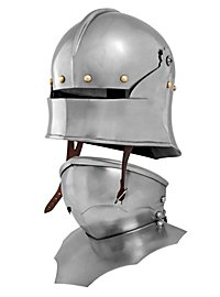 German Sallet with Bevor