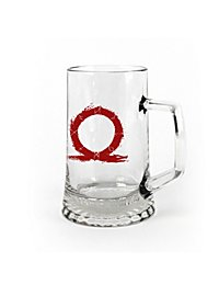 God of War - Pint Glass Serpent Logo