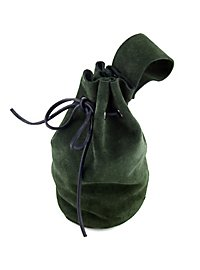 Lederbeutel - Heller grün