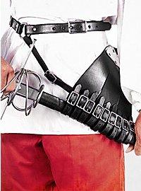 Gürtel mit mehrlaschigem Schwertgehänge für Rechtshänder