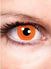 Lentilles de contact Halloween orange