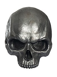 halved deco skull made of resin