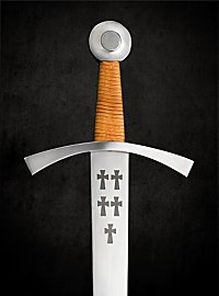 Heavy One Handed Sword with Crosses