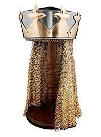 Helm mit Krone - König Artus