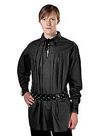 Mittelalter Hemd - Charles, schwarz