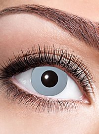 Hexer grey contact lens with diopters