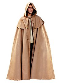 Hooded Cape brown