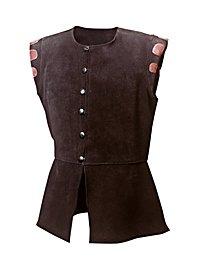 Leather jerkin - Roger