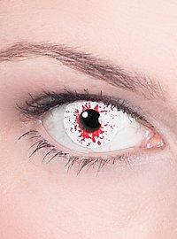 Infizierter Kontaktlinse mit Dioptrien