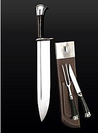 Jagdmesser-Garnitur