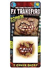 Joue de zombie 3D FX Transfers