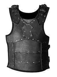 Lederrüstung - Kämpfer, schwarz