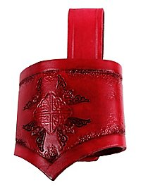 Schwerthalter - Keltenkrieger, rot