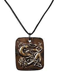 Keltischer Drache Medaillon