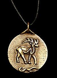 Medaillon - keltischer Hirsch