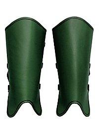 Beinschienen - Kriegsknecht grün