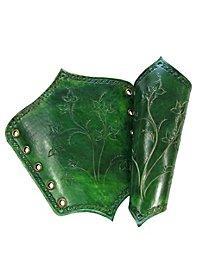 Bracers - Elf warrior, green