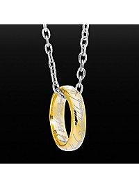 L'anneau unique Seigneur des anneaux plaqué or