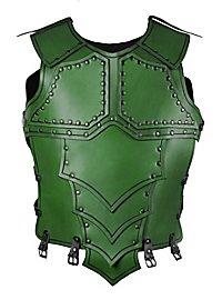 Lederrüstung - Drachenreiter grün