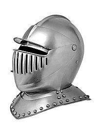 Late Medieval Close Helmet