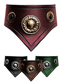 Leather Collar - Comtesse