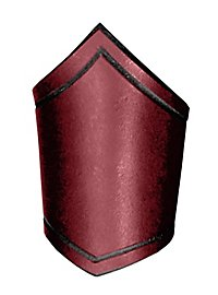 Leather Armband - Adventurer red