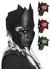 Leather Helmet - Dark Elf