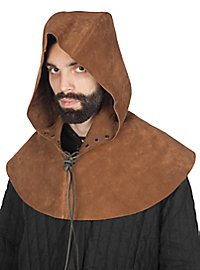 Leather hood - Rogue beige