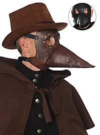 Leather Mask - Plague Doctor