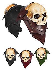 Leather Pauldrons - Lord of Bones (Pair)