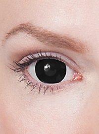 Lentilles de contact mini Sclera noires